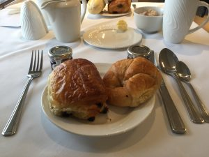 Best Western Breakfast, Croissants