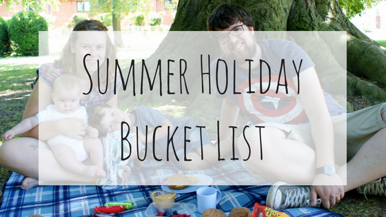 school summer holiday bucket list
