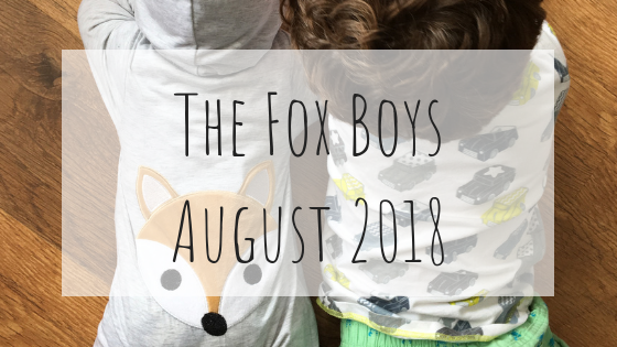The Fox Boys August 2018